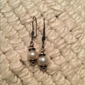Silpada Pearl Earrings